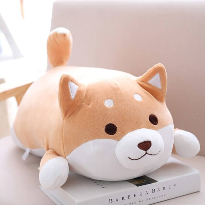 36/55 Cute Fat Shiba Inu Dog Plush Toy Stuffed Soft Kawaii Animal Cartoon Pillow Lovely Gift for Kids Baby Children Good Quality 4