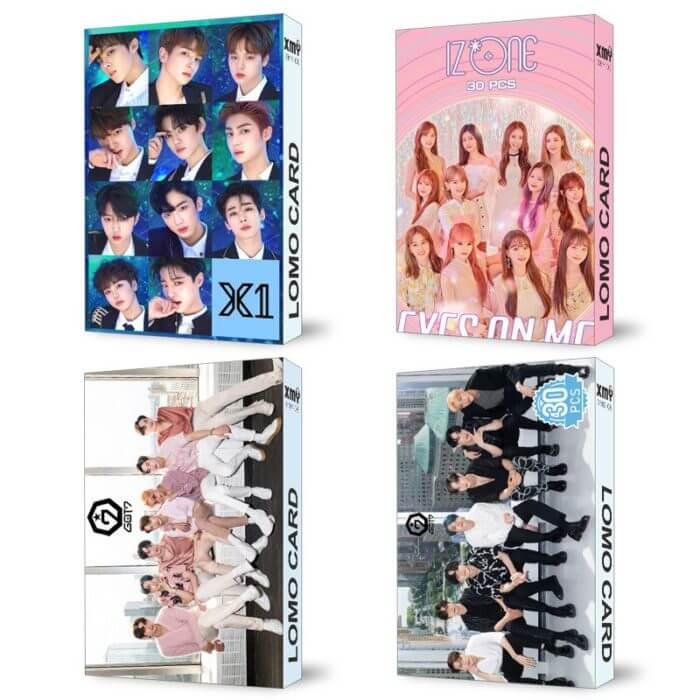 30pcs/set Kpop STRAY KIDS IZONE Blackpink Twice GOT7 Lomo card SEVENTEEN NCT MONSTA X album poster HD photocard K-POP CARDS 2