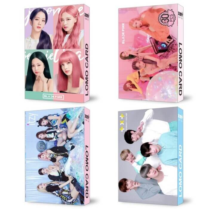 30pcs/set Kpop STRAY KIDS IZONE Blackpink Twice GOT7 Lomo card SEVENTEEN NCT MONSTA X album poster HD photocard K-POP CARDS 3