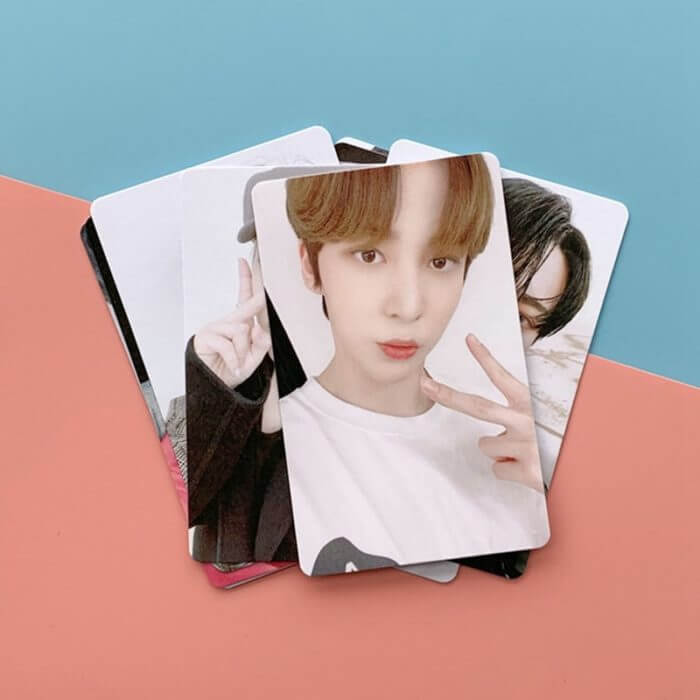 8Pcs/Set Kpop ATEEZ Photo Card Postcard Lomo Card For Fans Collection New Arrivals 1