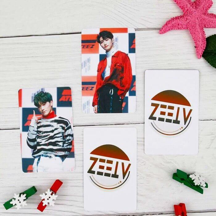 9pcs/set Kpop ATEEZ Photocard Postcard TREASURE EP.FIN ALL TO ACTION Album Photo Card ATEEZ KPOP Lomo Cards New Arrivals 4