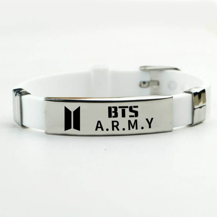 Korean Style Fashion Initial Hand Bracelet Jimin ARMY Letter Bracelets for Women Men Kpop Bangtan Boys Jewelry Birthday Gifts 1