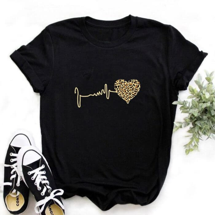 Beauty and The Beast Friends Shirt Cute Vacation Cartoon Graphic Print T-shirt Womens Lovely Couple Top&tee,Drop Ship 6