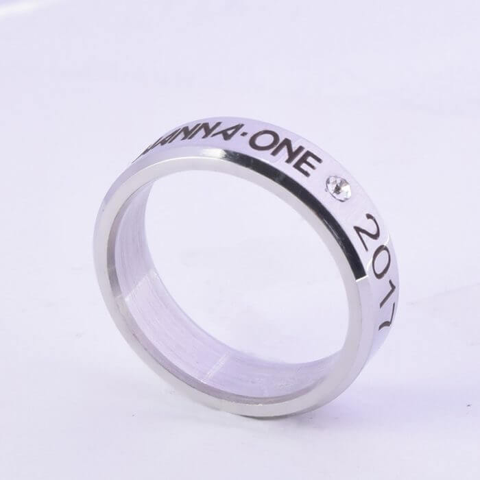 Kpop Stray Kids Alloy Ring Simple Fashion style for Lover fans gift collection Wanna One Bigbang Finger ring kpop stray kids 6