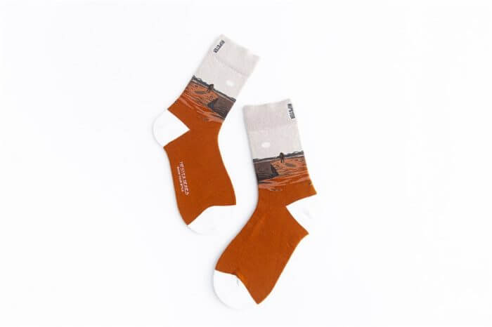 Unisex Painting Style Women Socks 100 Cotton Harajuku Colorful Kawaii  Full Socks Women1 Pair  Streetwear Size 35-43 11