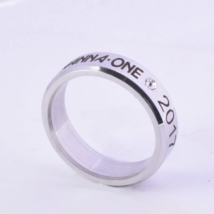 Kpop Stray Kids Alloy Ring Simple Fashion style for Lover fans gift collection Wanna One Bigbang Finger ring kpop stray kids 5