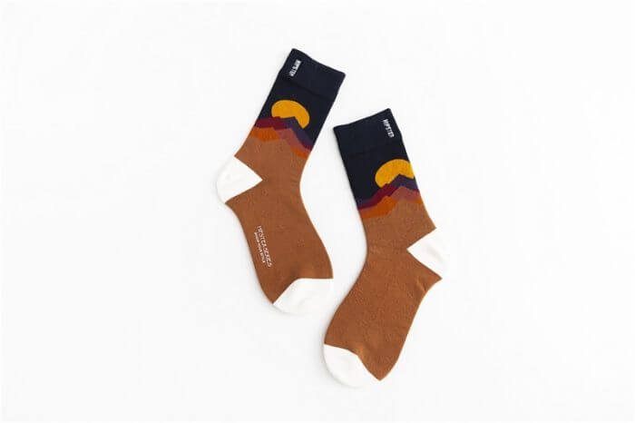 Unisex Painting Style Women Socks 100 Cotton Harajuku Colorful Kawaii  Full Socks Women1 Pair  Streetwear Size 35-43 26