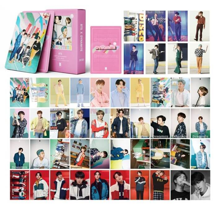 54PC KPOP Boys Photocard Album SPEAK YOURSELF Self Made Paper Card Lighes/Boys With Luv Photo Cards Poster 4