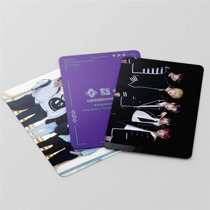 54 Pcs / Set Kpop TXT Album Photo Card Lomo Cards Postcards Decoration Self Made Photo Cards Decoration Supplies Fans Gifts 4