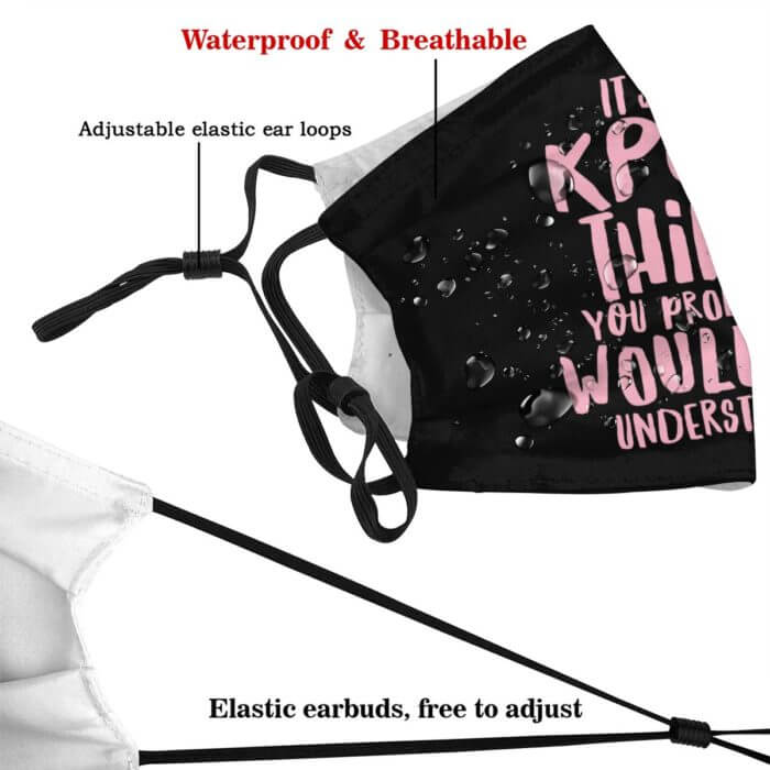 Kpop Mouth Face Mask It Is A KPOP Thing Facial Mask for Adult Fashion Beautiful with 2 Filters Mask 4