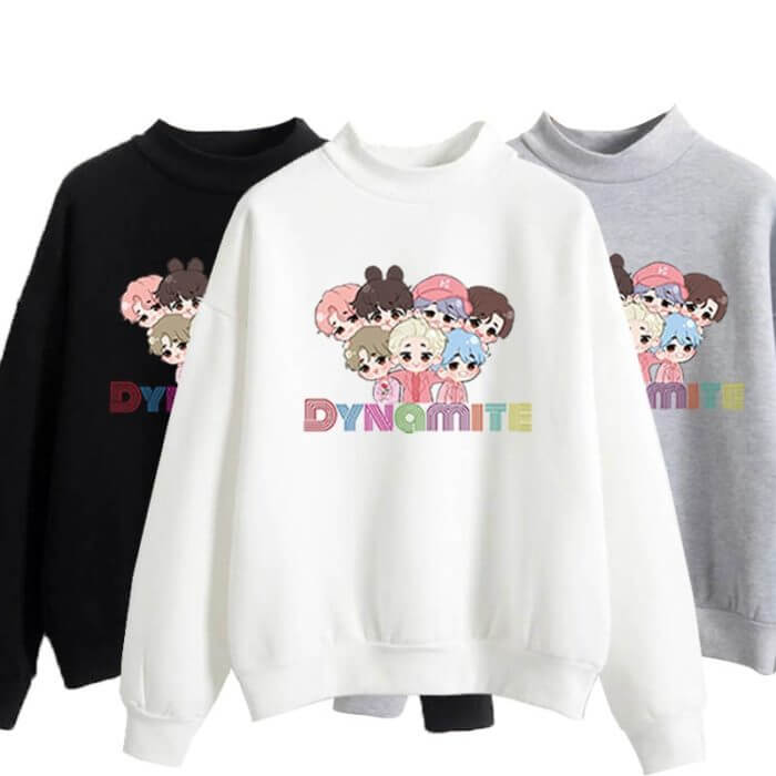 anime hoodie kpop winter couple clothes korean harajuku oversize crewneck sweatshirt  fall 2020 women clothing long sleeve tops 1