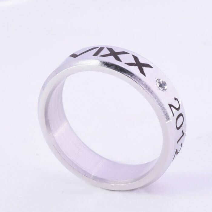 Kpop Stray Kids Alloy Ring Simple Fashion style for Lover fans gift collection Wanna One Bigbang Finger ring kpop stray kids 4